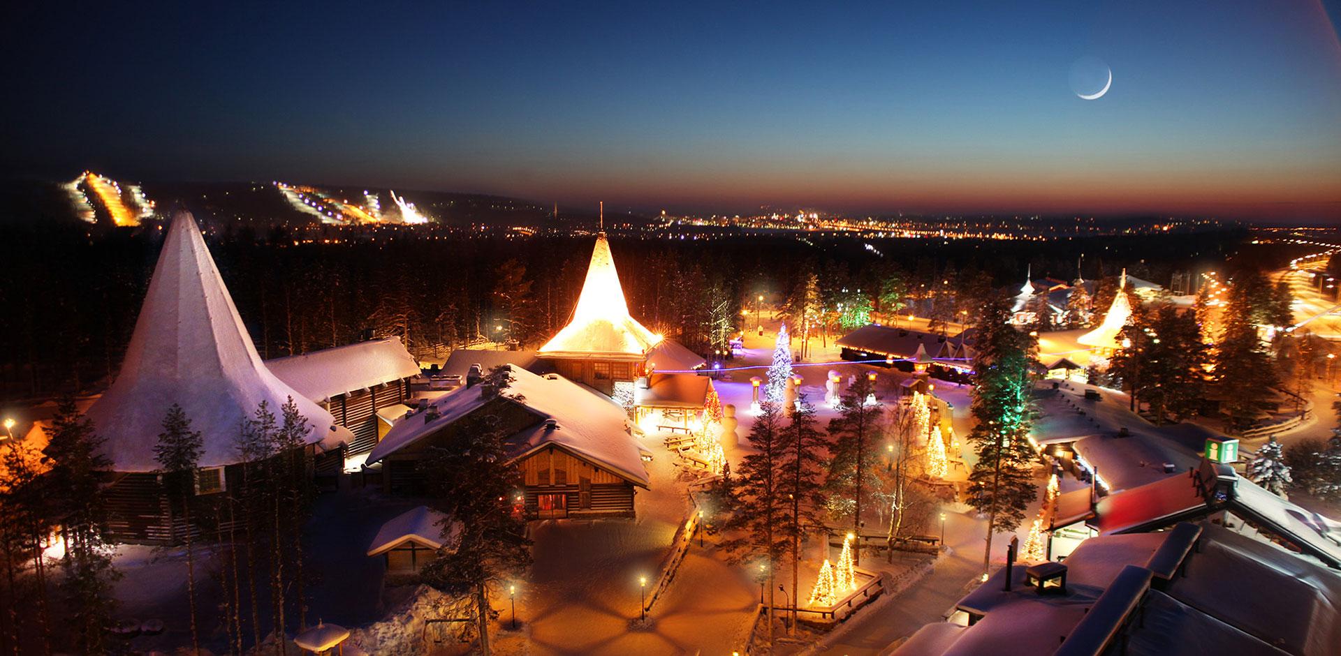 Rovaniemi - najbardziej świąteczne miejsce na świecie