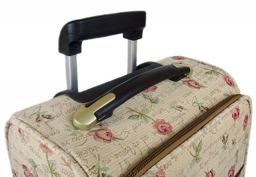 W co się zapakować na wyjazd - uchwyt walizki