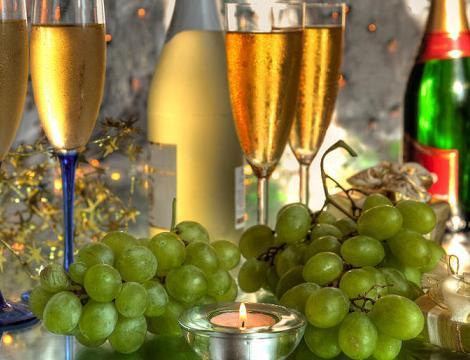 W Hiszpanii winogron zjada się przed północą.