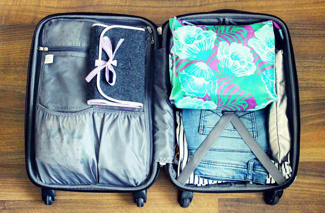 W co się zapakować na wyjazd - materiał walizki