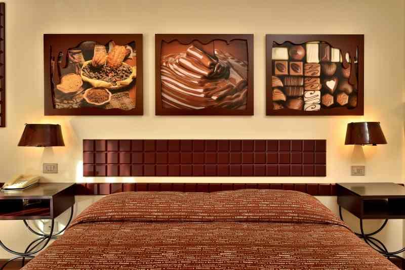 nietypowe miejsca we Włoszech - hotel dla miłośników czekolady