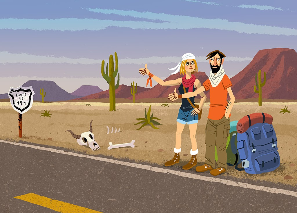 Autostopowe konkursy podróżnicze