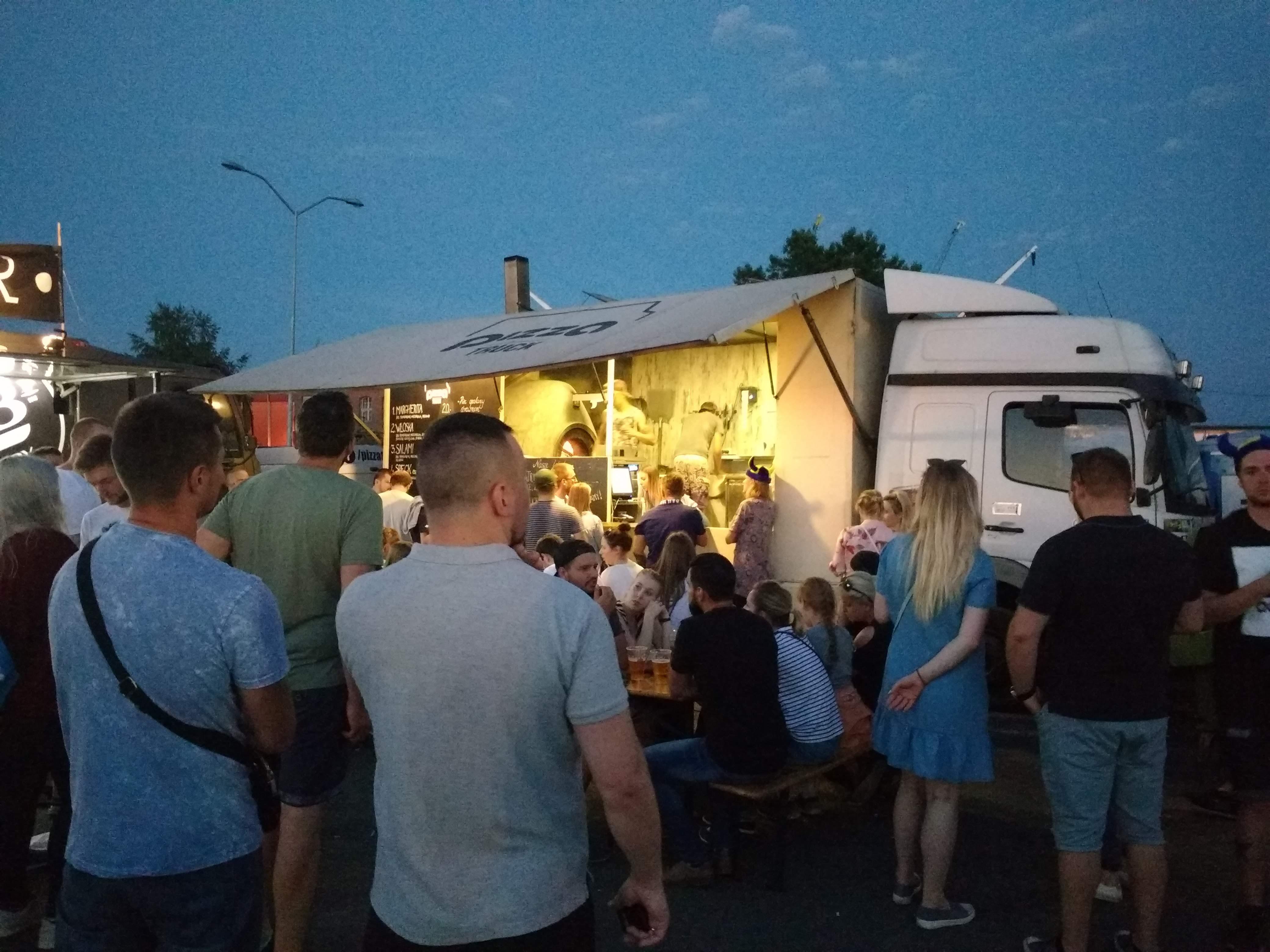Dni Morza - food trucki