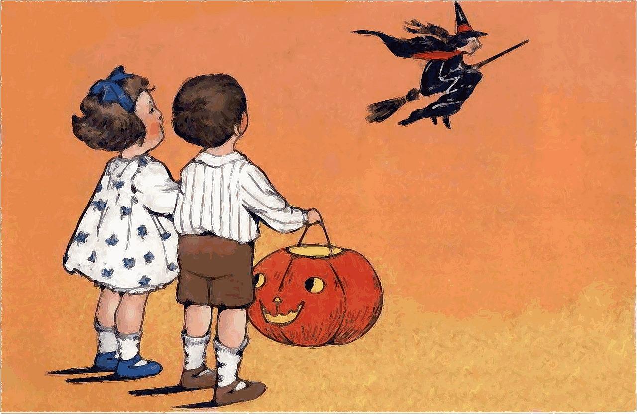Halloween, Dzieci