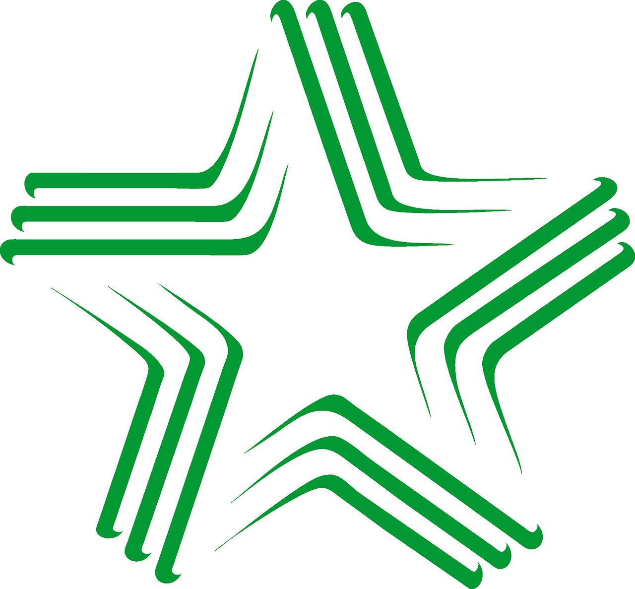Flaga symbolizująca esperanto