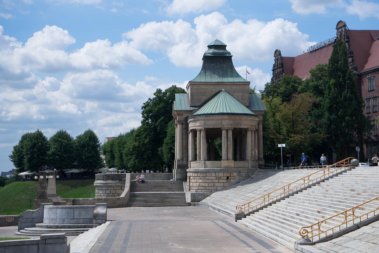 Szczecin, miasto, które prawie leży nad morzem
